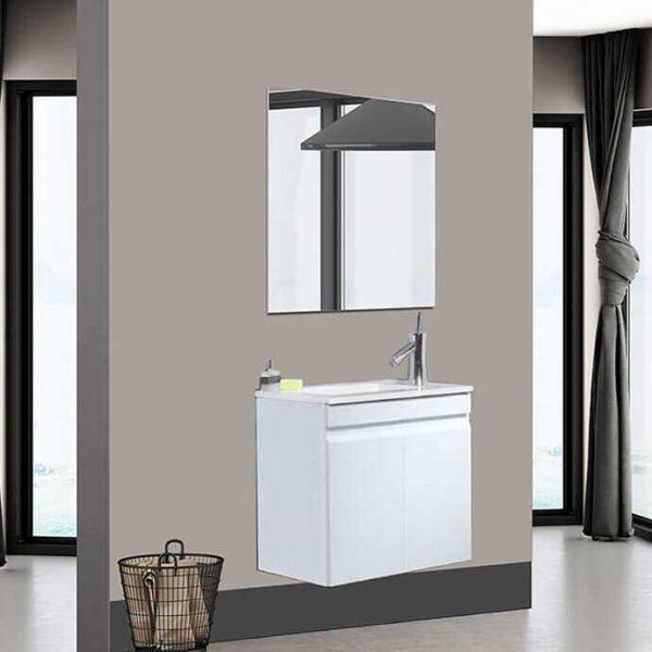 ALEX ארון אמבטיה סנדוויץ תלוי 2 דלתות בצביעת אפוקסי קטן