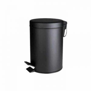פח אשפה שחור